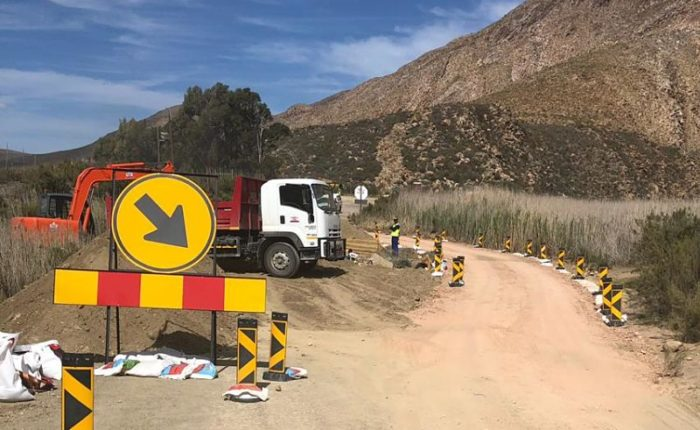 Repair and Construct New River Crossings in Seweweekspoort