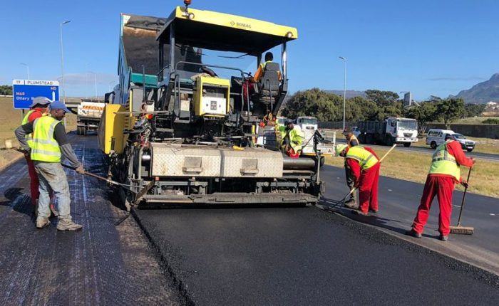 Resurfacing of sections of M5